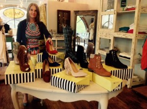 Ann Marie Supinki of AM Luxe will be donating 100 pairs of new fashion shoes to Lehigh Valley non profit.